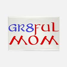 GR8FUL MOM (C) Rectangle Magnet