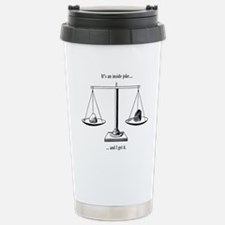 Inside Joke Stainless Steel Travel Mug