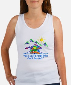 Gearboaters Say No. Women's Tank Top