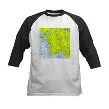 LAX Sectional Chart Tee
