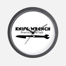 'Knife-Wrench' Wall Clock