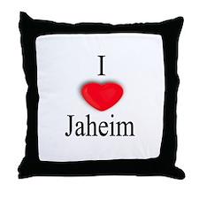 Jaheim Throw Pillow