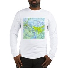 MSY Sectional Chart Long Sleeve T-Shirt