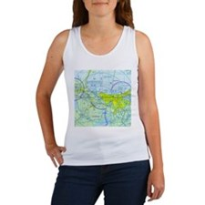 MSY Sectional Chart Women's Tank Top