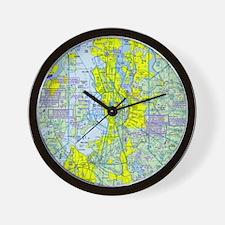 Unique Chart Wall Clock