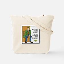 Pardon my planet Tote Bag
