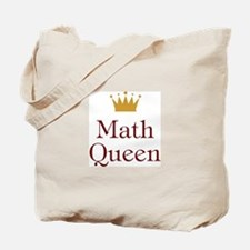 Math Queen Tote Bag