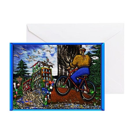 Greeting Cards (Pk of 10) Nature Bike Ride