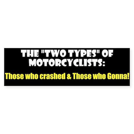"""Two Types"" Sticker (Bumper)"