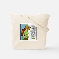 Cute Pardon my planet Tote Bag