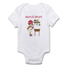 Abuela's Helper in Kitchen Infant Bodysuit
