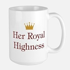 Her Royal Highness Large Mug
