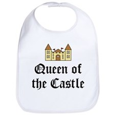 Queen of the Castle Bib