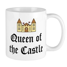 Queen of the Castle Small Mug