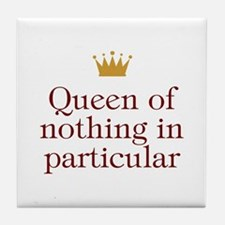 Queen of Nothing Tile Coaster