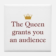 Queen Audience Tile Coaster