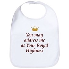 Your Royal Highness Bib