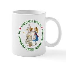 SIX IMPOSSIBLE THINGS Mug