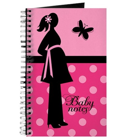 Pink Pregnancy Baby Journal Gift