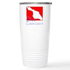 Dive Catalina Island Travel Mug