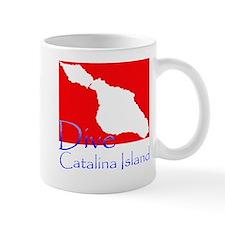 Dive Catalina Island Mug