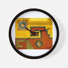 Aztec Design 1 Wall Clock