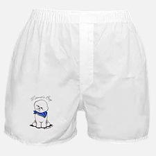 Bichon Mama's Boy Boxer Shorts