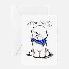 Bichon Mama's Boy Greeting Card