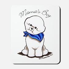 Bichon Mama's Boy Mousepad
