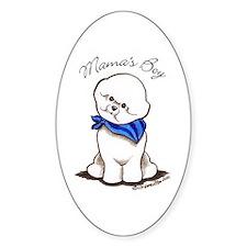 Bichon Mama's Boy Decal