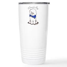 Bichon Mama's Boy Travel Mug