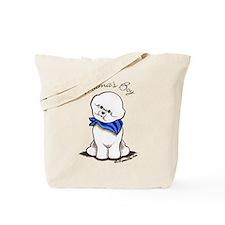 Bichon Mama's Boy Tote Bag