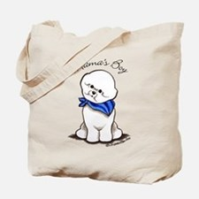 Bichon Mama's Boy Tote Bag