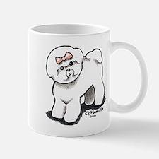 Girly Bichon Frise Mug