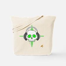 Skull - Headphones Tote Bag