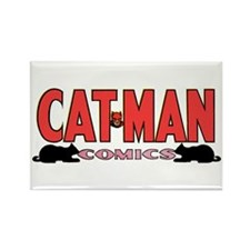 Classic Cat-Man Logo Magnet $4.99