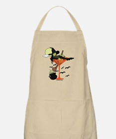 Halloween Martini Girl Apron