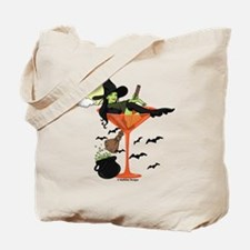Halloween Martini Girl Tote Bag