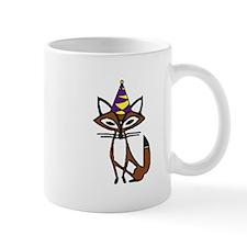 party fox Small Mug