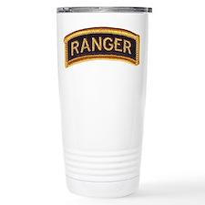 Ranger Tab Black & Gold Travel Mug