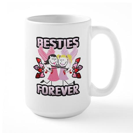 Besties Forever! Large Mug