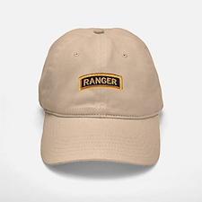 Ranger Tab Black & Gold Baseball Baseball Cap