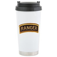 Ranger Tab Black & Gold Travel Mug