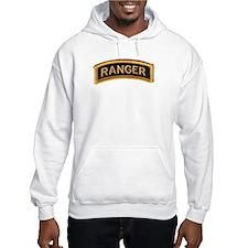 Ranger Tab Black & Gold Hoodie