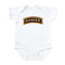 Ranger Tab Black & Gold Infant Bodysuit