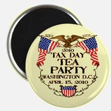 Tax Day Tea Party Magnet