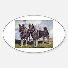 Norwegian Elkhound Decal
