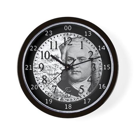 BACH AROUND THE CLOCK Wall Clock