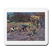 Beagle Art Mousepad