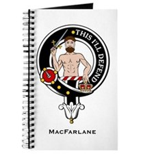 MacFarlane Clan Crest Badge Journal